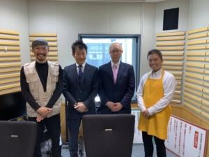 ニッポン放送「渡部陽一明日へ喝!」にランシステム 代表取締役の 日高大輔が出演しました。